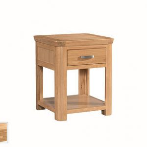 Treviso End Table (With Drawer)