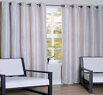 Vegas Cream Ready Made Curtains