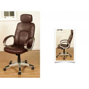 Viking Burgundy Office Chair