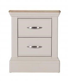 Tenby 2 Drawer Bedside Locker