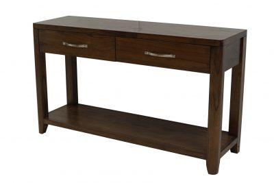 Catalina Walnut Console Table