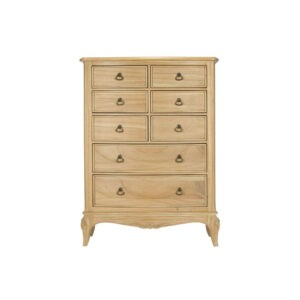 Limoges 8 Drawer Tall Wide Chest