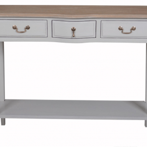Annabelle Double Console Table with Shelf