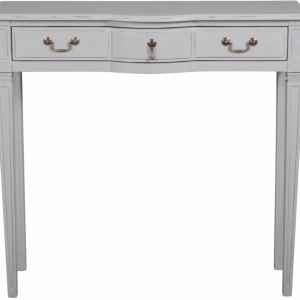 Annabelle Single Console Table (Painted Top)