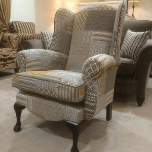 Queen Anne Patchwork 14 Chair