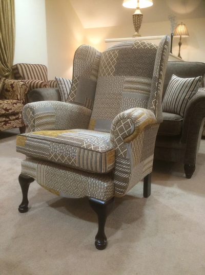 Queen Anne Patchwork 14 Chair