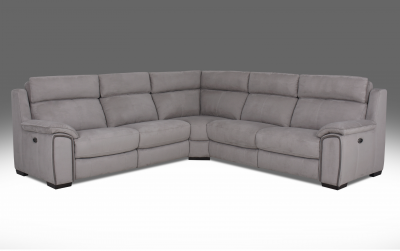 Amalfi Electric Recliner Corner Sofa