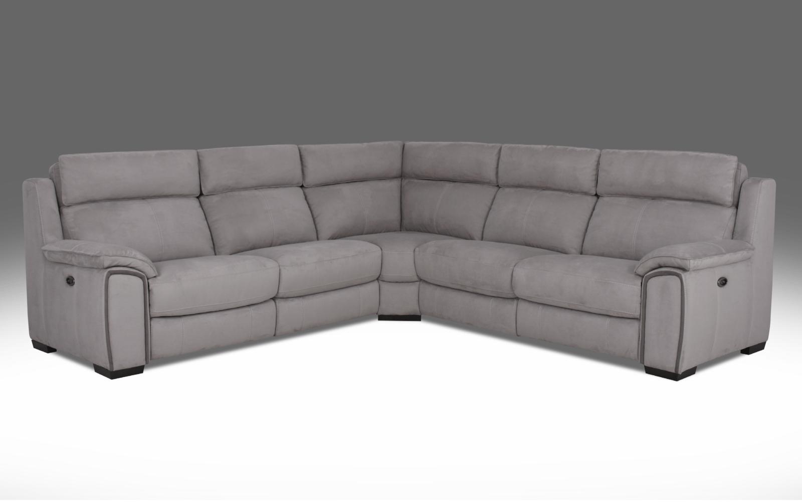Strange Amalfi Electric Recliner Corner Sofa Dailytribune Chair Design For Home Dailytribuneorg