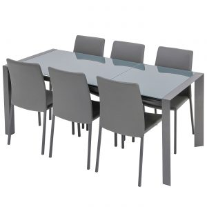Brindisi Ceramic 1.2-1.8m Ext. Table