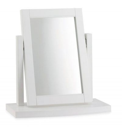 Hampstead White Vanity Mirror