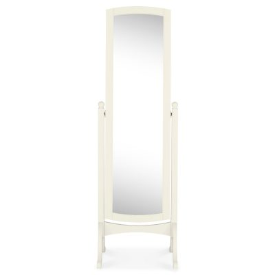 Bordeaux Ivory Cheval Mirror