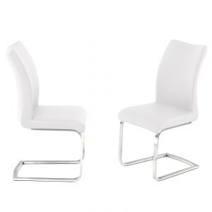 Paderna White Chair
