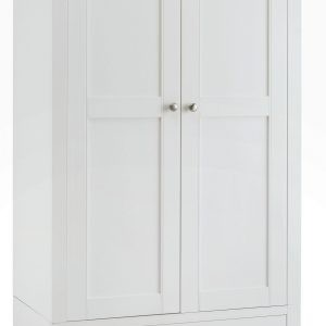 Hampstead White Double Wardrobe
