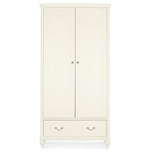 Bordeaux Ivory Double Wardrobe