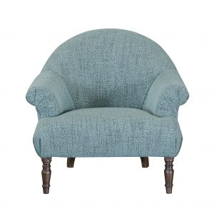 Imogen Boucle Jade Button Chair