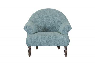 Imogen Boucle Jade Button Chair
