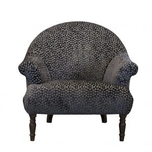 Imogen Dapple Seal Brown Button Chair
