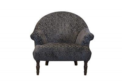 Imogen Dapple Seal Brown Button Chair