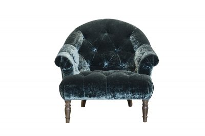 Imogen Mineral Emerald Button Chair