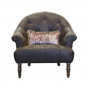Imogen Jin Black Button Chair