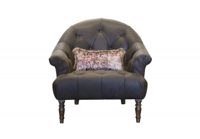 Imogen Jin Black Button Chair