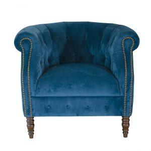 Jude Plush Mallard Chair