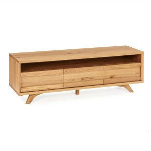 Avalon Rustic Oak Entertainment Unit