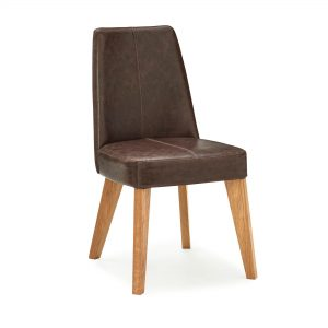 Avalon Rustic Oak Espresso Chair