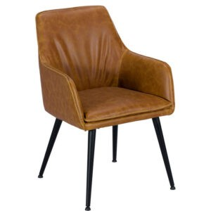Oliver Dining Chair Tan