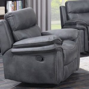 Emily Charcoal Grey Armchair