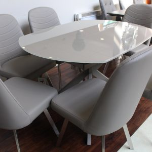 Flux Cappucino Dining Chair