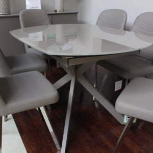 Flux Cappucino Dining Table