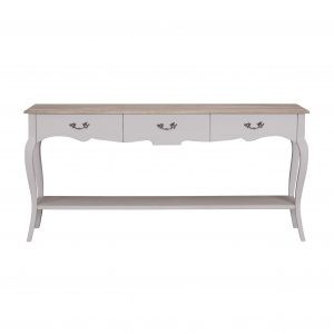 Sofia Hardwick 3 Drawer Console Table
