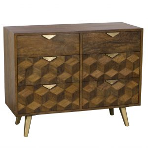 Boxer 6 Drawer Wide Chest