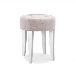 Chantilly White Dressing Table Stool
