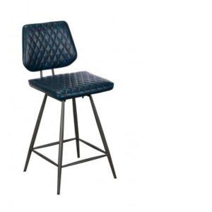 Dalton Bar Chair Dark Blue