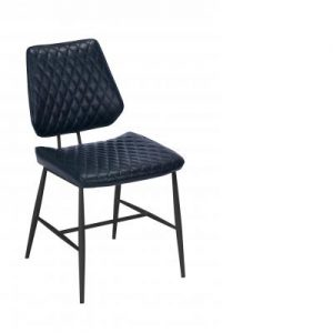 Dalton Dining Chair Dark Blue