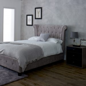 Epsilon Mink Super King-Sized Bed
