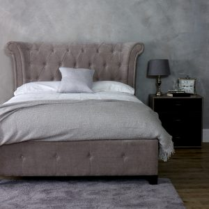 Epsilon Mink King-Sized Bed