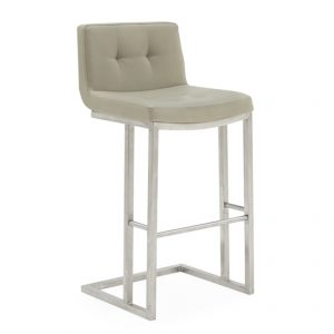 Elstra Taupe Barstool