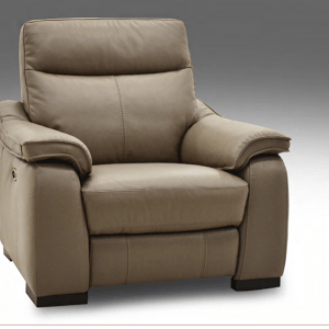 Gavin Leather Electric Recliner Chair