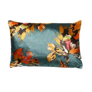 Adriana 35x50cm Teal Cushion