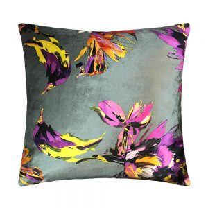 Adriana 43x43cm Grey Cushion
