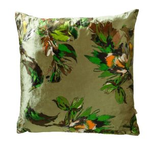 Adriana 43x43cm Green Cushion