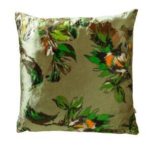 Adriana 43x43cm Green Cushion