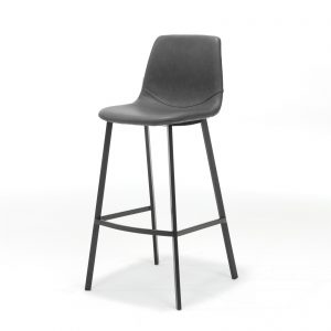 Bari Bar Stool Black