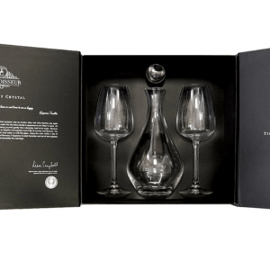 Connoisseur Decanter & Two Red Wine Gift Box Set