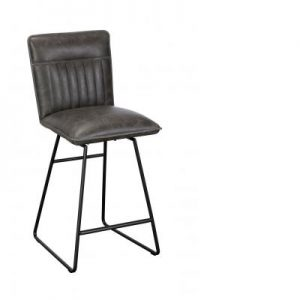 Cooper Bar Chair Grey