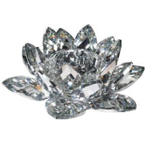 Crystal Lotus Candleholder