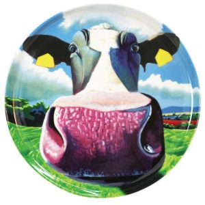 Eoin O'Connor Set of 4 Biscuit Plates